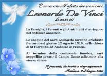 Manifesto Funebre Modello 01-Angelo su Cimiteri.Online - il primo social media dell'Aldilà con Identità Funebre Digitale
