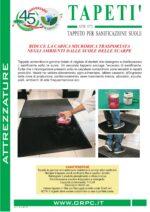 Tapetì – Sanificazione suole delle scarpe