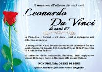 Manifesto Funebre Civile - Modello Rosa 03