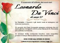 Manifesto Funebre Civile - Modello Rosa 04