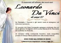 Manifesto Funebre Religioso - Modello Angelo 04