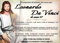 Manifesto Funebre Religioso - Modello Cristo 04
