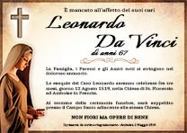 Manifesto Funebre Religioso - Modello Madonna 02