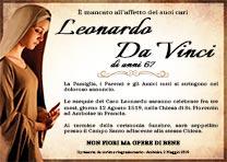 Manifesto Funebre Religioso - Modello Madonna 02b