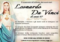 Manifesto Funebre Religioso - Modello Madonna 04