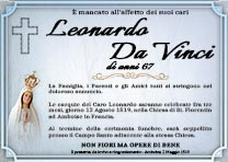 Manifesto Funebre Religioso - Modello Madonna 05