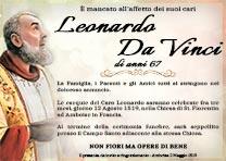 Manifesto Funebre Religioso - Modello Padre Pio 04
