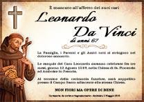 Manifesto Funebre Religioso - Modello San Francesco D'Assisi 02