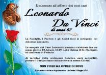 Manifesto Funebre Religioso - Modello San Francesco D'Assisi 03