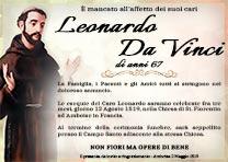 Manifesto Funebre Religioso - Modello San Francesco D'Assisi 04