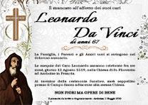 Manifesto Funebre Religioso - Modello San Francesco da Paola 01