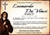 Manifesto Funebre Religioso - Modello San Francesco da Paola 02