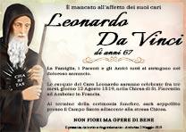 Manifesto Funebre Religioso - Modello San Francesco da Paola 04