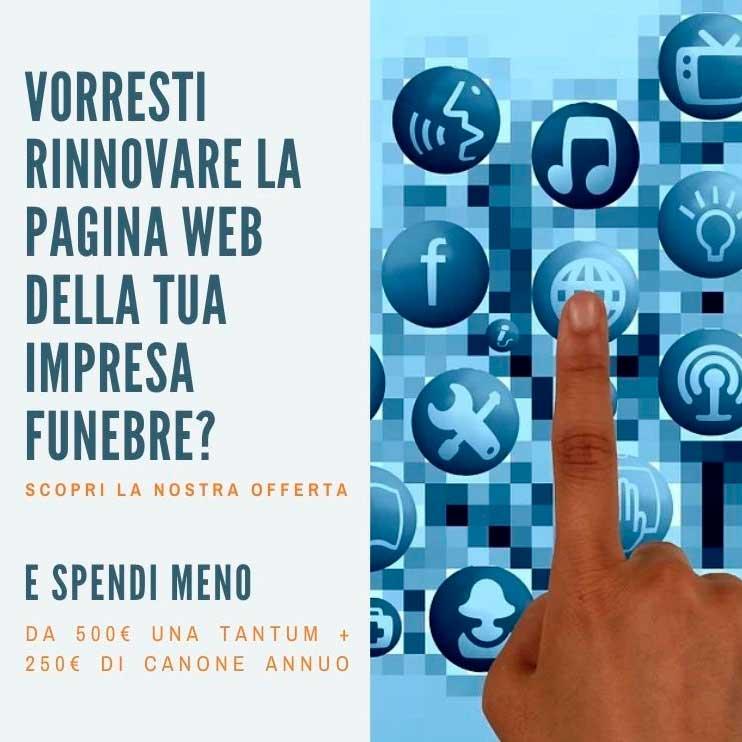 Sviluppo Pagine web Onoranze Funebri